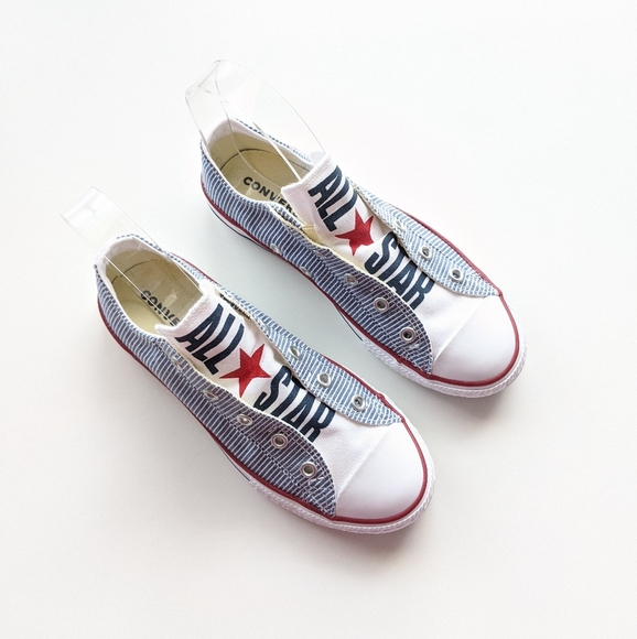 Converse Other - Converse CTAS Slip Navy/Enamel Red/White